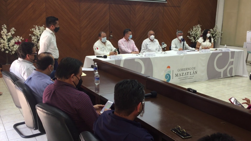 Ajustes por COVID adelanta Alcalde de Mazatlán