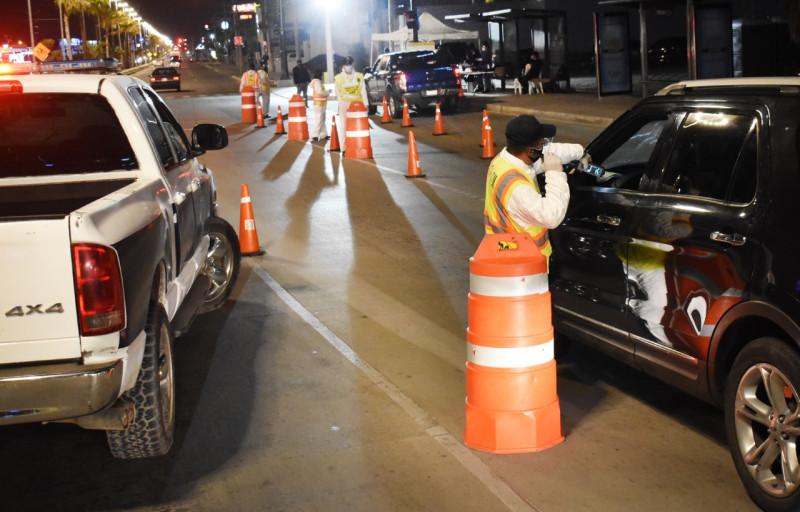 25 conductores dieron positivo al Alcoholímetro