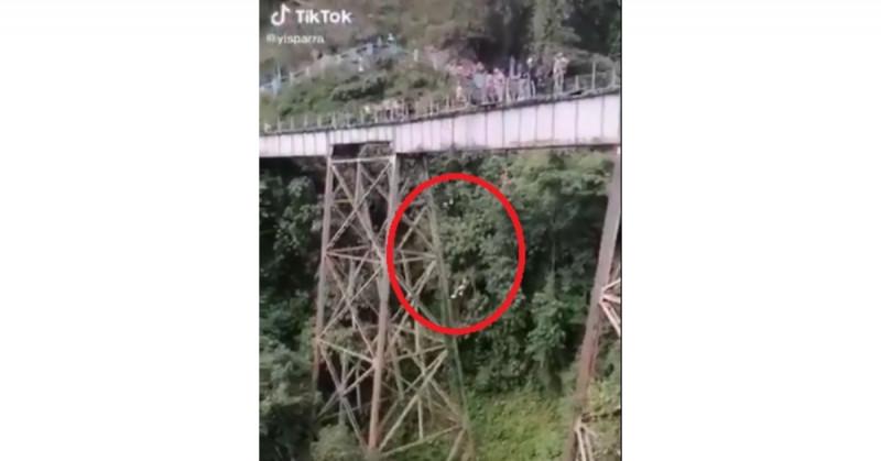 Yecenia entendió mal al instructor de jumping y murió al saltar sin arnés de seguridad (video)