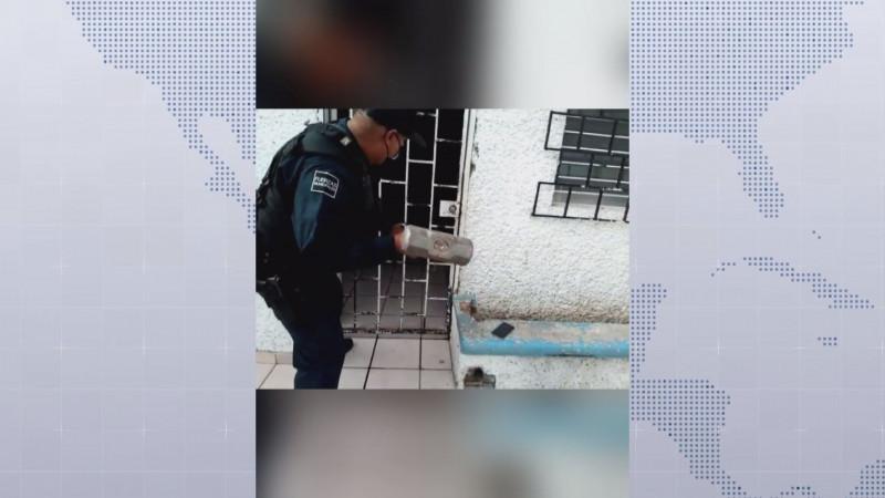 Policías de Culiacán atienden llamado urgente de menor quemada
