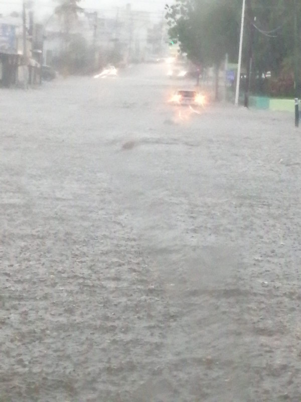Una persona fallecida tras lluvias intensas