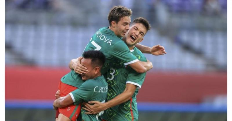Así México goleó 4-1 a Francia en su debut en los JJOO de Tokio 2021