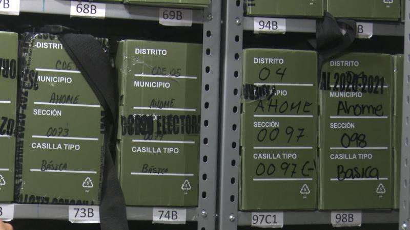 CME Ahome envía boletas a Culiacán para su destrucción