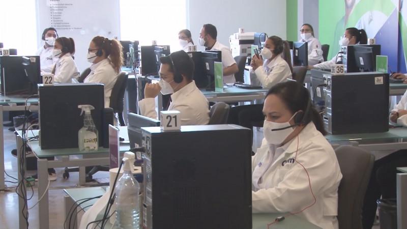 112 mil atenciones médicas  en los Call Center Covid