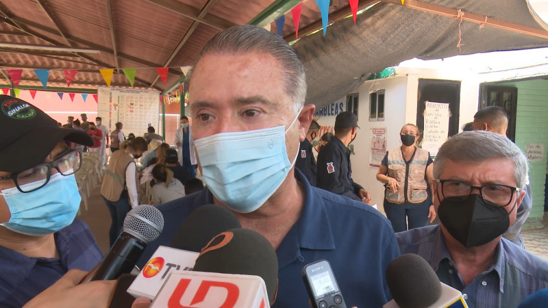 Llegarán 200 mil vacuna más a Sinaloa: Gobernador
