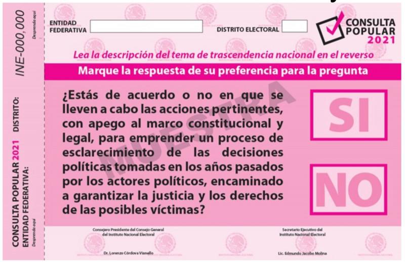 Dice no el Partido Acción Nacional a la consulta popular para enjuiciar a exfuncionarios