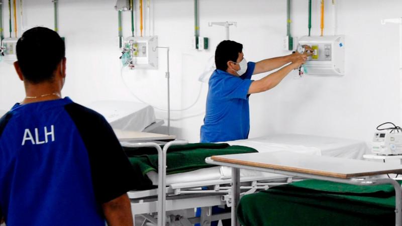Garantiza el IMSS 574 camas para atender a pacientes con SARS-CoV-2