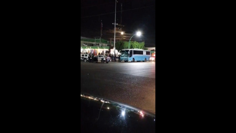 SSP frustra secuestro y logra liberar rehenes de autobús