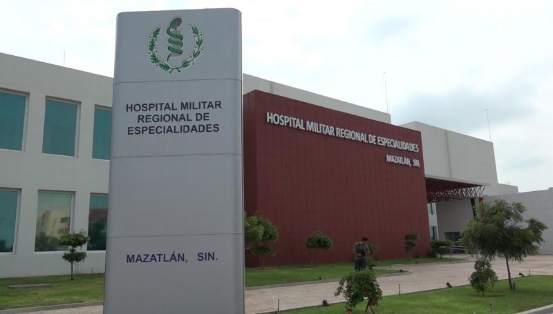 Hospital Militar de Mazatlán brindará atención a la población en general