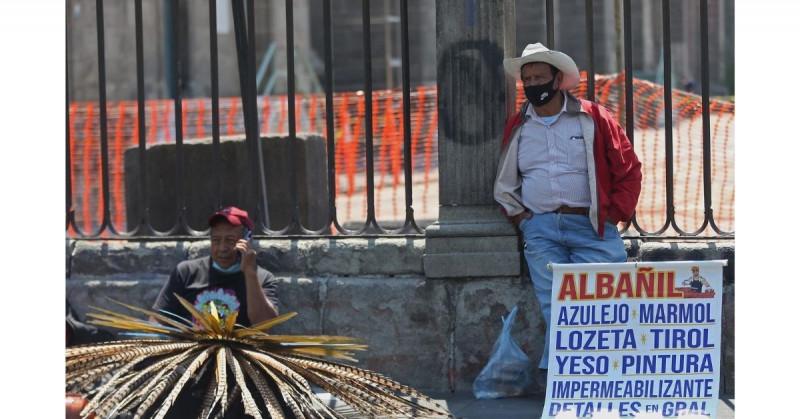El desempleo en México llega a los niveles pre-pandemia, pero empleos son más precarios