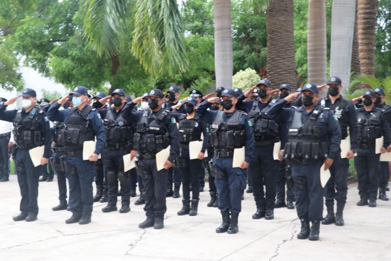 Reconocen a policías de la SSPyTM