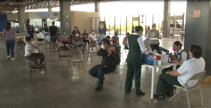 Baja asistencia en proceso de vacunación en el Nuevo Estadio de Béisbol