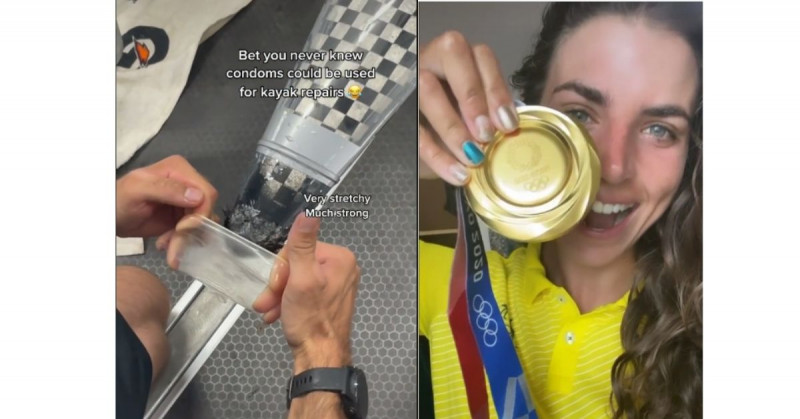 Gracias a un condón esta mujer pudo reparar su kayak y ganar medalla olímpica