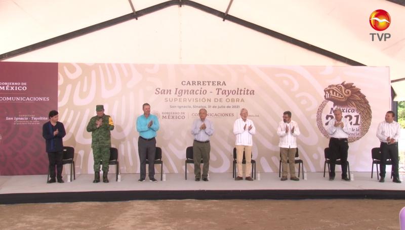 En diciembre de 2022 estará lista carretera San Ignacio-Tayoltita