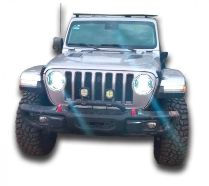 Lo detienen en un Jeep robado