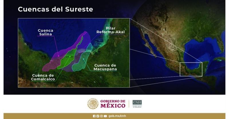 Encuentran un nuevo yacimiento petrolero en el Golfo de México de entre 150 y 200 millones de barriles