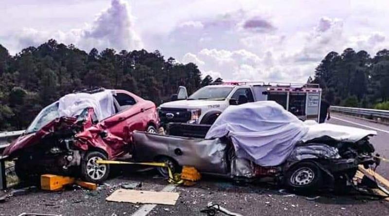 3 muertos y 4 lesionados en accidente