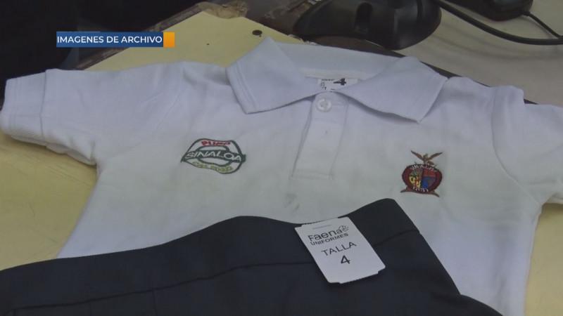 Avanza la confección y elaboración de paquetes y uniformes escolares
