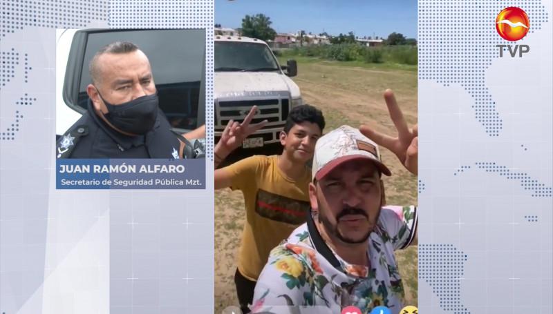 """Si hubieran visto a """"El Flaco"""" infraganti, hubiera sido detenido: Policía de Mazatlán"""