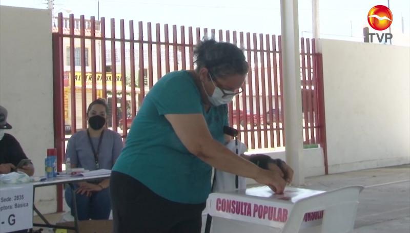 Poca participación registró la consulta Ciudadana
