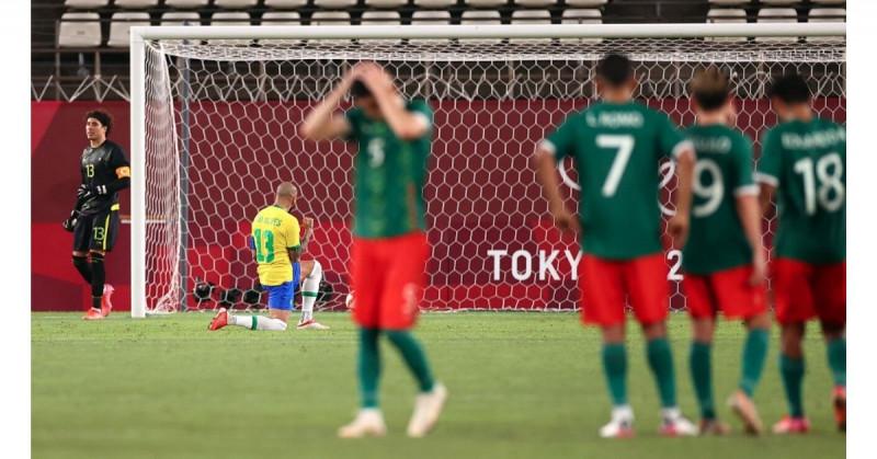 México cae en penales contra Brasil y competirá nuevamente con Japón por la medalla de bronce