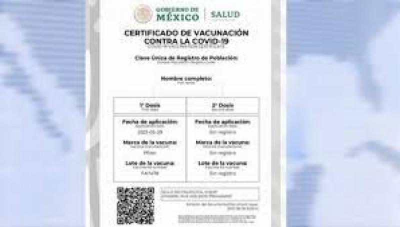 En desacuerdo COPARMEX  en que se pida el certificado de vacunación