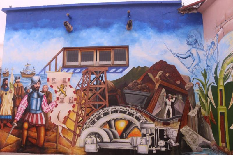 Develan mural conmemorativo en Rosario