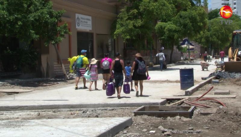 Hoteles de la avenida Playa Gaviotas afectados por remodelación