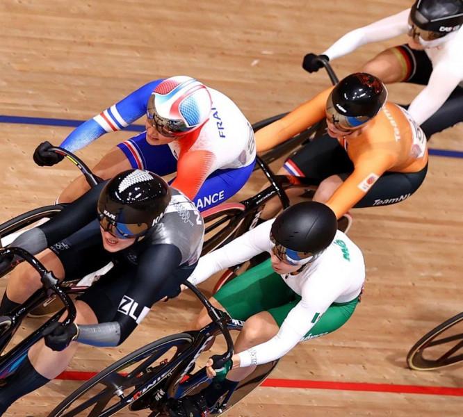 Luz Daniela Gaxiola finaliza en el lugar 11 en Keirin en Juegos Olímpicos