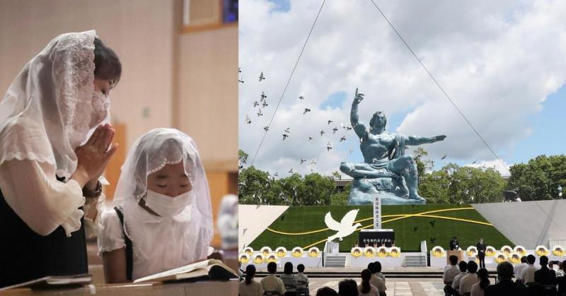 Hiroshima y Nagasaki conmemoraron el 76 aniversario de sus bombardeos nucleares pidiendo prohibirlos