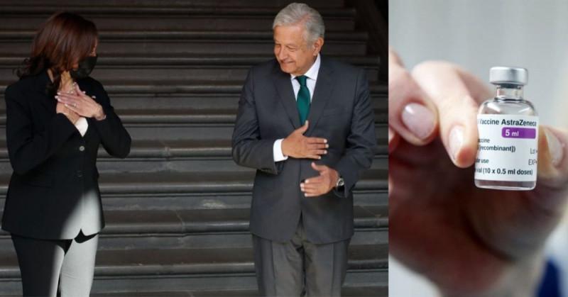 Estados Unidos enviará a México hasta 8.5 millones de vacunas anticovid de Moderna y AstraZeneca