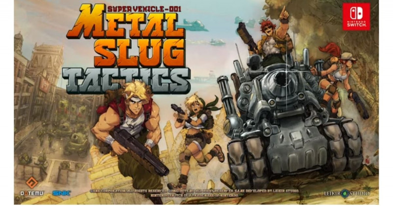¡Hola, nostalgia! Anuncian el regreso de Metal Slug actualizado y mejorado para Nintendo y PC