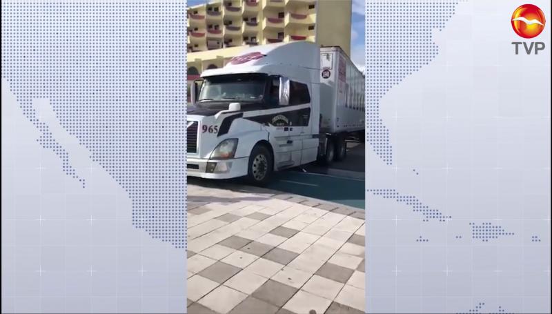 Detienen a trailero que dañó malecón y ciclovía