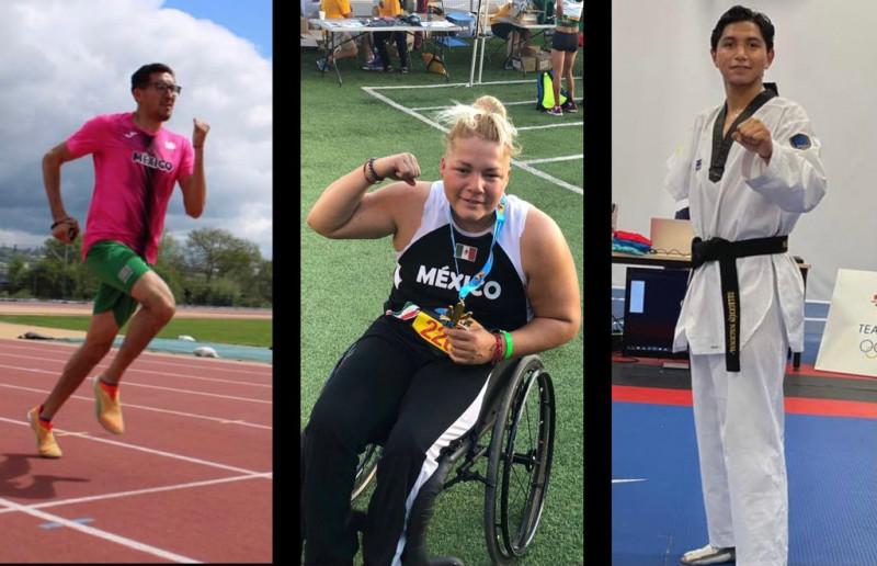 Sinaloenses listos para los Juegos Paralimpicos de Tokio 2020