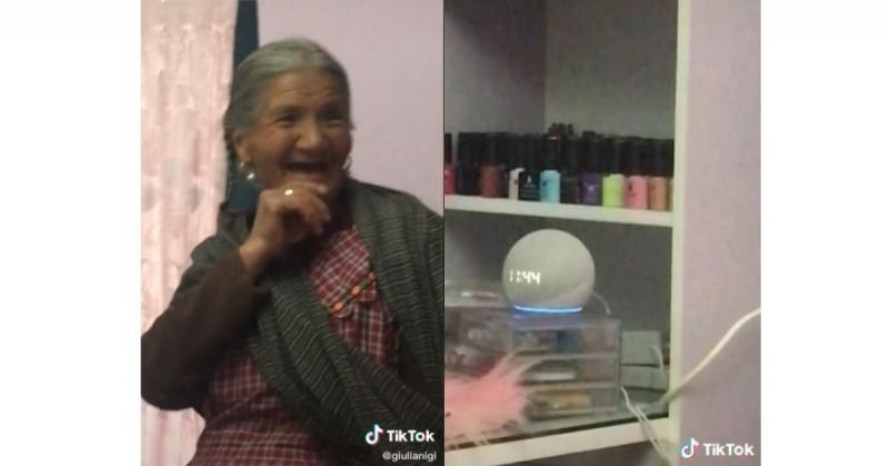 Abuela enternece al pedirle a la asistente de Amazon que le rece el Santo Rosario (video viral)