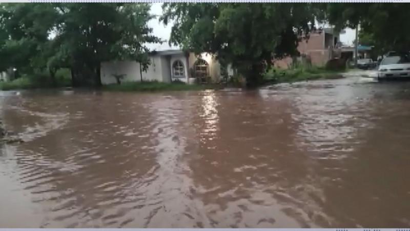 Cierre de vialidades, autos varados y encharcamientos resultados de la lluvias