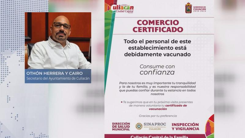 Paulatinamente se pedirá el certificado de vacunación en Culiacán
