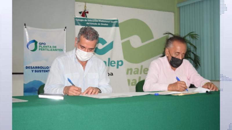 GPO y Conalep firman convenio de colaboración