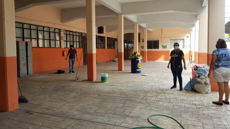 No hay condiciones de infraestructura educativa para clases presenciales