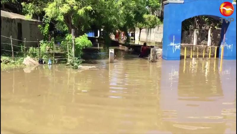 Lluvias afectan viviendas en Rosario y Escuinapa