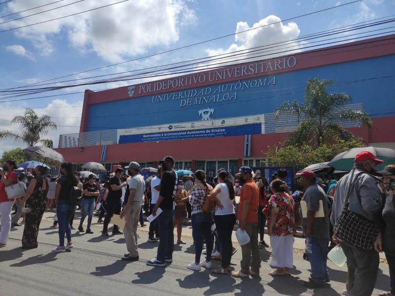 Toda una odisea, la vacunación este sábado en Mazatlán