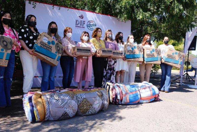 Inicia el DIF Sinaloa con la entrega de apoyos por la temporada de calor y lluvias