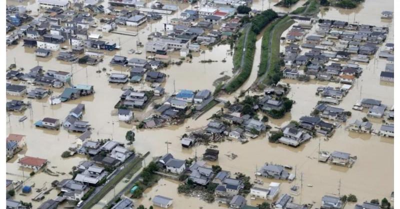 Seis muertos y cuatro desaparecidos por lluvias torrenciales en Japón