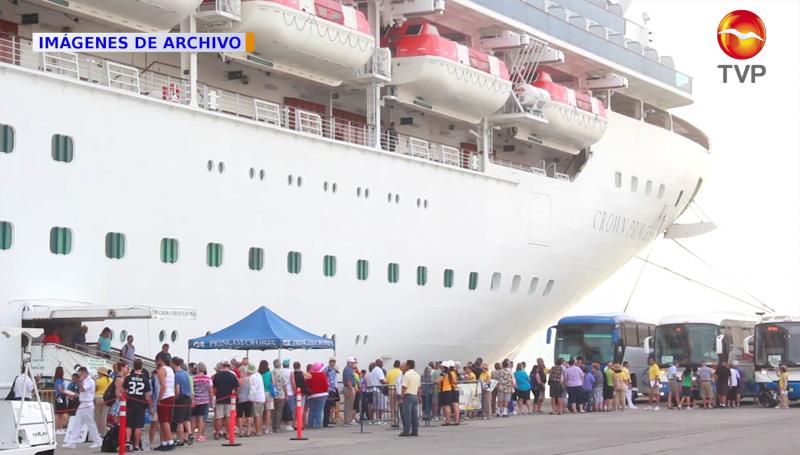 Solo el 10% de los cruceristas recorrerán la ciudad de Mazatlán