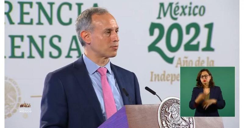El 93% de los hospitalizados no se vacunó y el 4% tenía una dosis, afirma López-Gatell