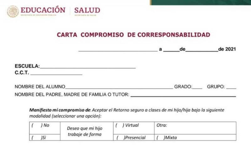 No es obligatoria la carta compromiso dice AMLO