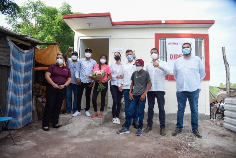 Niños Pannasir en Ahome reciben casa nueva y equipada