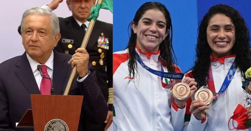 AMLO le dará una medalla a los deportistas que tuvieron 4to lugar en los JJOO.