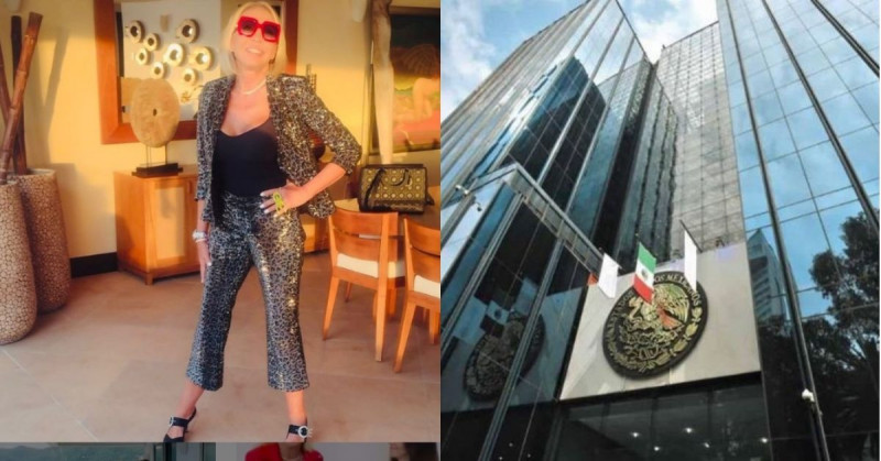 Laura Bozzo será buscada por la Interpol a petición de la FGR