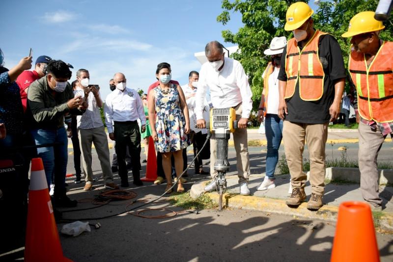 Inicia proyecto calles más seguras en Culiacán
